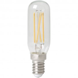 Calex LED Full Glass Filament Tubelar-Type Lamp 240V 3,5W E14 T25x85, 310lm, Clear 2700K Dimmable