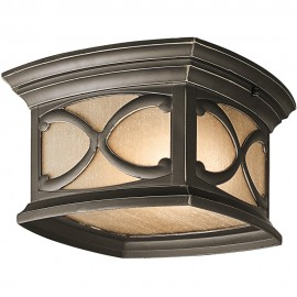 Outdoor Flush Porch Light 27.9cm