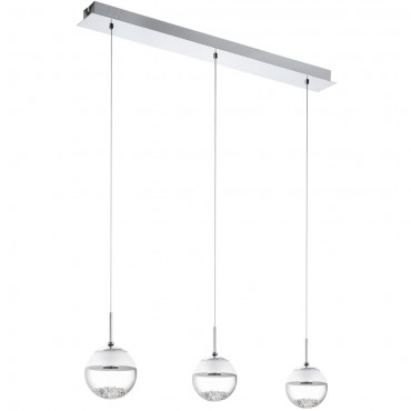 Cluster LED Pendant Bar 87cm