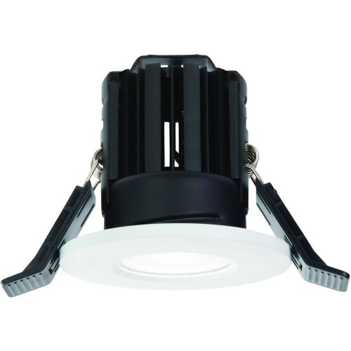White IP65 Fixed Downlight LED Integrated 8.2cm