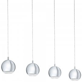 LED Pendant Bar Cluster 101cm