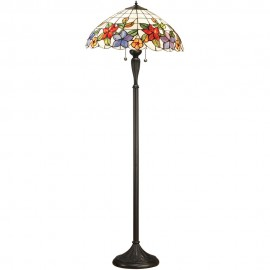 Tiffany Border Floor Lamp 156cm