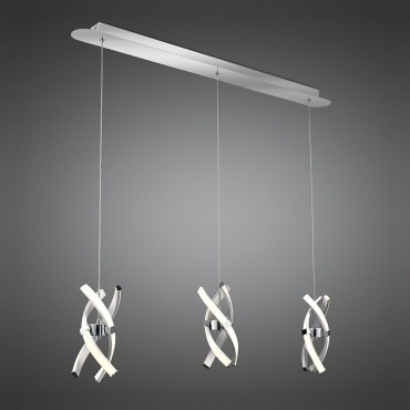 Cluster LED Pendant Bar 100cm