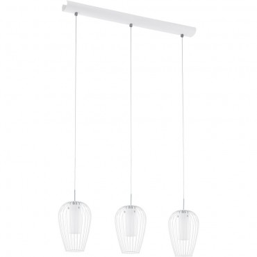 Cluster LED Pendant Bar 70cm