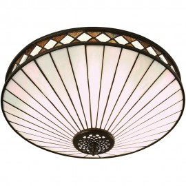 Tiffany Flush Ceiling Light 41.5cm