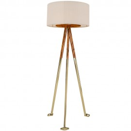 Gold Scales Floor Lamp 147cm