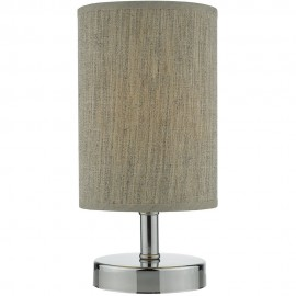 Polished Chrome Touch Table Lamp 24cm