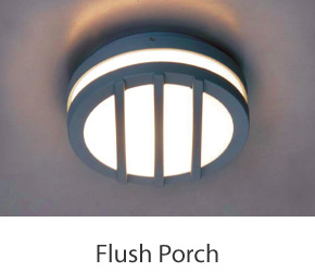 Outdoor Flush Porch Lights