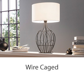 Caged Table Lamps