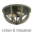 Urban & Industrial Ceiling Lights