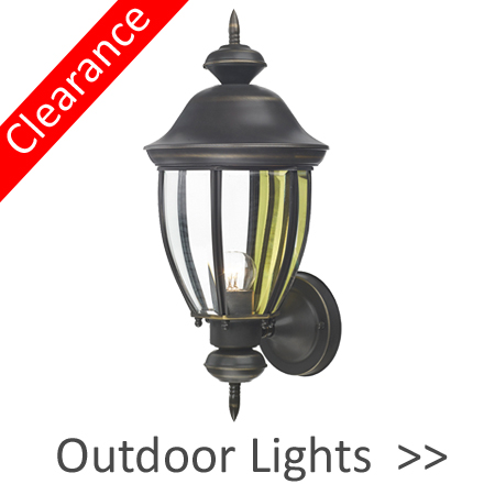 Clearance Outdoor Lights