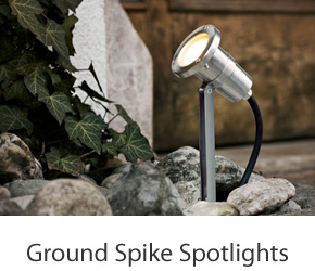 Outdoor Ground Spike Lights