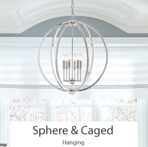 Sphere & Caged Ceiling Lights