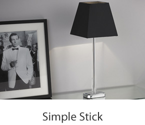 Clean Lines Stick Table Lamps