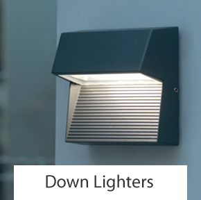 Outdoor Down Wall Lights