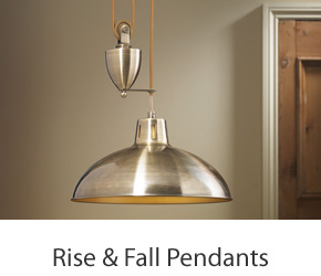Rise & Fall Pendant Lights For Kitchen