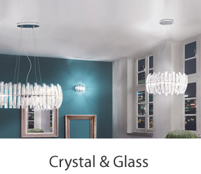 Crystal & Glass Pendant Lights