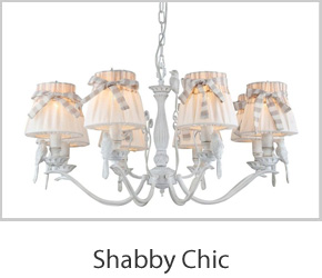 Shabby Chic Ceiling Lights