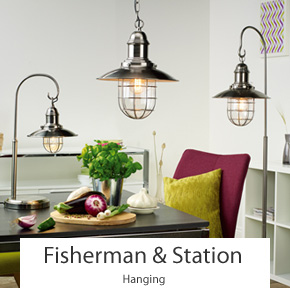 Fisherman & Station Pendant Ceiling Lights
