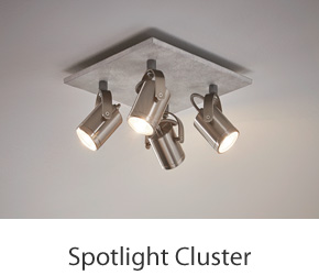 Kitchen Ceiling Spotlight Clusters