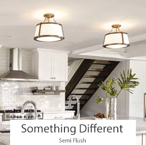 Something Different Semi Flush Ceiling Lights