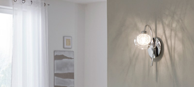 Glass Shade Wall Lights