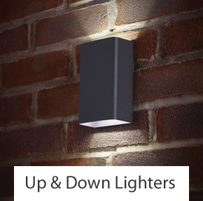 Up & Down Outdoor Wall Lights