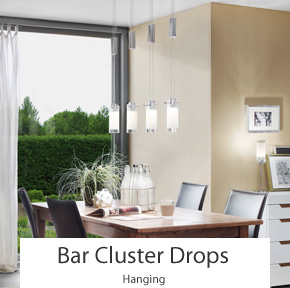 Bar Cluster Pendant Lights