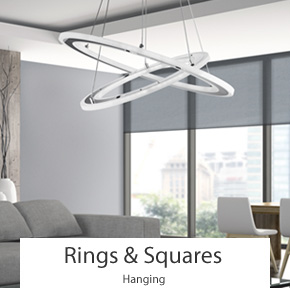 Modern LED Ring Ceiling Lights