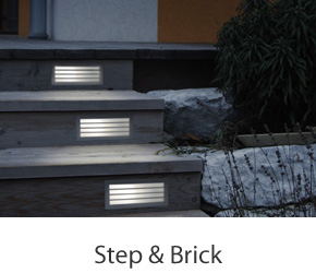 Step & Brick Lights