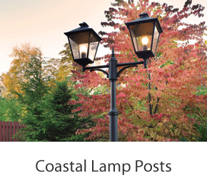 Coastal Pedestal Lights