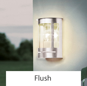 Outdoor Flush Wall Lights