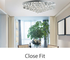 Close Fit Ceiling Lights