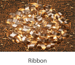 Ribbon Pendant Lights