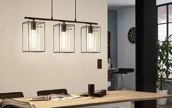 Contemporary Pendant Bar