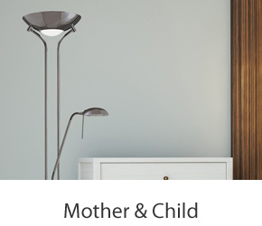 Mother & Child Floor Lamps