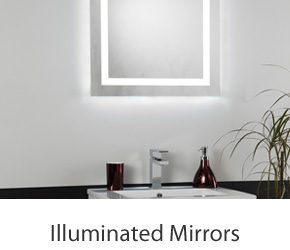 Bathroom Illuminated Mirrors