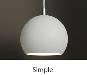 Simple Pendant Lights
