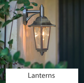 Outdoor Lantern Wall Lights