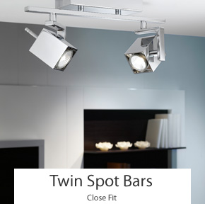 Twin Spot Light Bars
