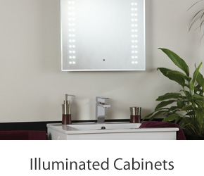 Bathroom Illuminated Cabinet Mirrors