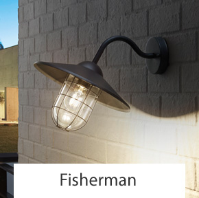 Outdoor Fisherman Wall Lights