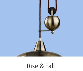 Rise And Fall Pendant Lights