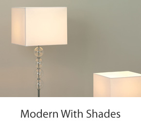 Modern Shade Floor Lamps