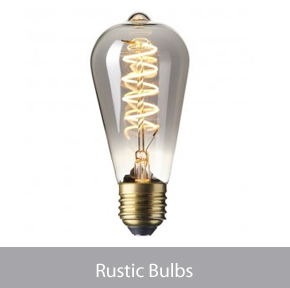 LED Rustic Bulbs