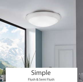 Simple Flush Ceiling Lights